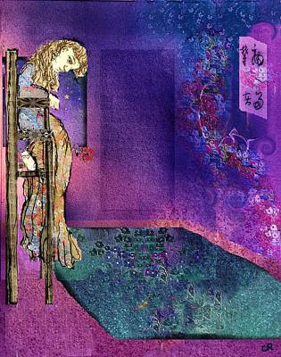 Depression Mixed Media - Melancholia  by Cynthia  Richards