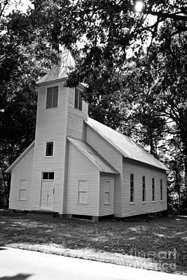 Photograph - Melanchthon Lutheran Church by Scott Hervieux