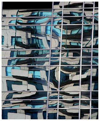 Photograph - Melbourne Reflections 101 by Frank Wickham