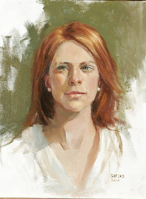 Painting - Melissa by Chris  Saper