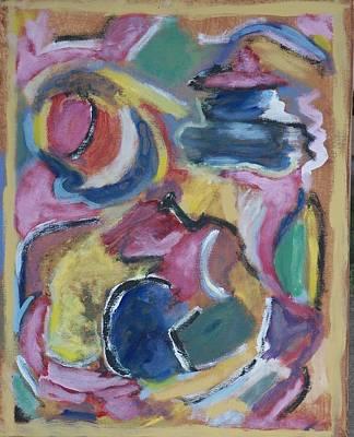 Yello Painting - Mello Yello by Jay Manne-Crusoe