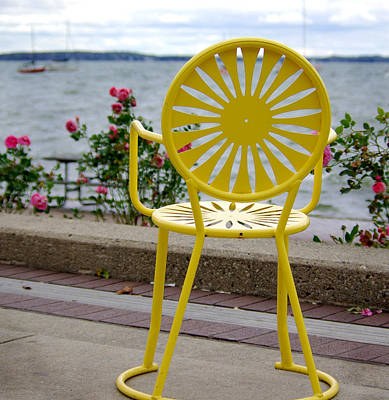 Union Terrace Photograph - Mellow Yellow by Linda Mishler