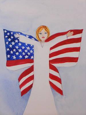 Memorial Day For Those Who Sacrificed Art Print by DJ Bates