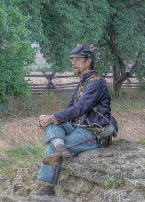 Little Round Top Digital Art - Memories Of Gettysburg by Randy Steele