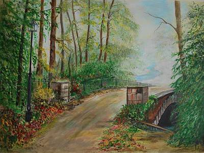 Painting - Memory Bridge 1 by Leslie Allen