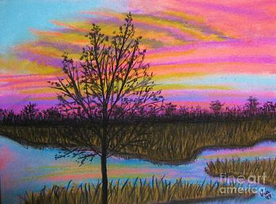 Pastel - Memory For Mom by Judy Via-Wolff