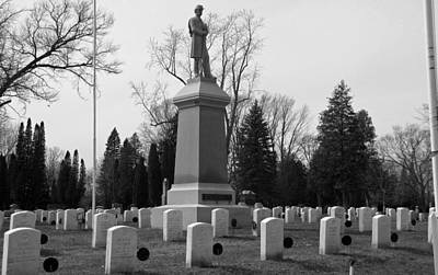 Photograph - Memory Of The Soldiers Dead  by Ms Judi