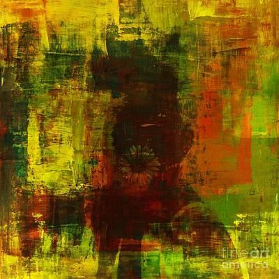 Abstract Movement Mixed Media - Memory Within by Fania Simon
