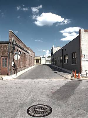 Photograph - Memphis Alley One by Joshua House