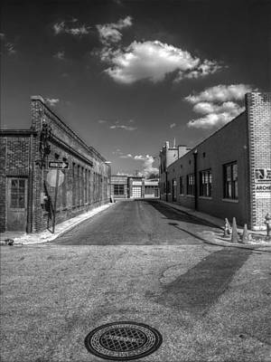 Photograph - Memphis Alley Two by Joshua House