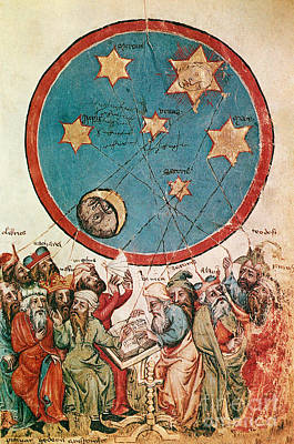 Men & Their Guiding Stars Art Print by Science Source