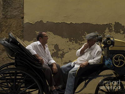 Photograph - Men In Cordoba by Colleen Rugg