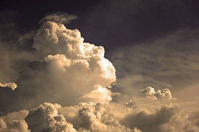 Photograph - Menacing Stormclouds by Anthony Citro