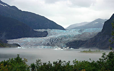 Photograph - Mendenhall Glacier View by Marilyn Wilson