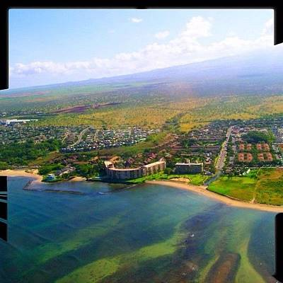 Helicopter Photograph - Menehune Shores #maui #hawaii #808 by Joel R