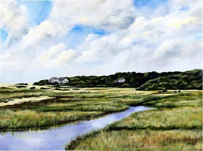 Menemsha Marsh Art Print by Paul Gardner