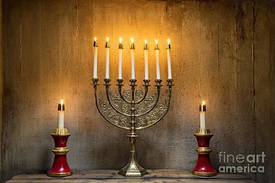 Hanukkah Photograph - Menorah by John Greim
