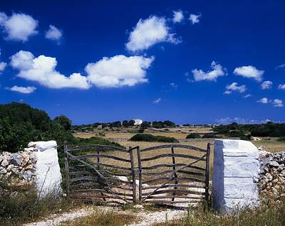 Photograph - Menorca Traditional Farm Gate by The Irish Image Collection