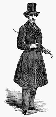 Photograph - Mens Fashion, 1852 by Granger