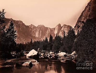 Photograph - Merced River Yosemite Valley by Pg Reproductions