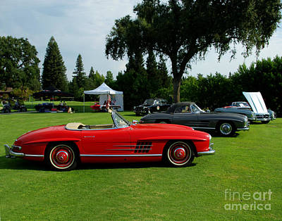 Photograph - Mercedes 300 Sl Club by Peter Piatt