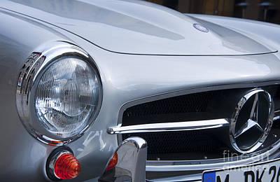 Mercedes-benz 190sl Roadster Art Print by Andrew  Michael