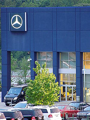 Photograph - Mercedes-benz Dealership by Renee Trenholm