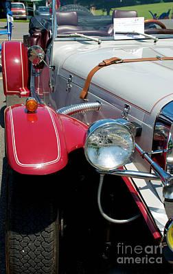 Photograph - Mercedes-benz Gazelle 3 by Mark Dodd