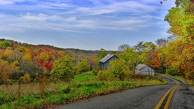 Photograph - Mercer County Drive by Tom Bush IV