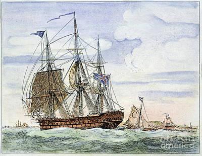 Merchant Ship Art Print