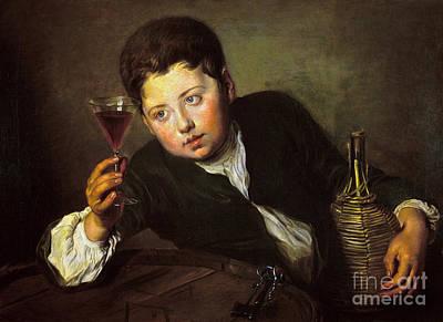 Photograph - Mercier: Wine Taster by Granger