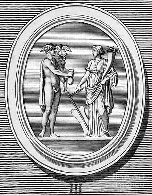 Hermes Wall Art - Photograph - Mercury And Fortune by Granger