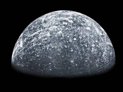 Surface Feature Photograph - Mercury, Mariner 10 Spacecraft Image by Detlev Van Ravenswaay