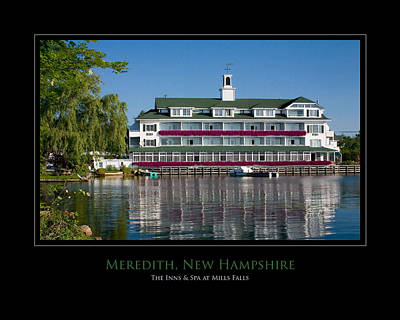 Meredith Inn Art Print by Jim McDonald Photography
