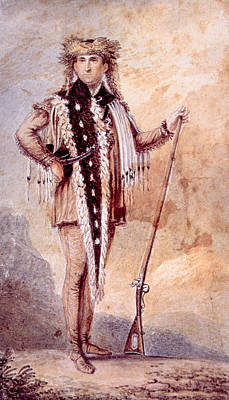 Meriwether Lewis 1774-1809, Co-leader Art Print by Everett