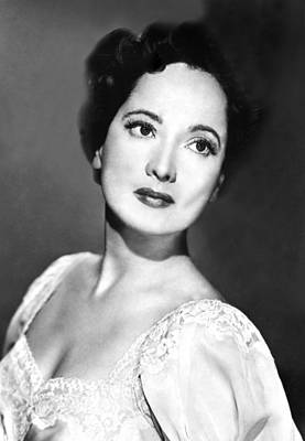 Publicity Shot Photograph - Merle Oberon, 1953 by Everett