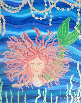 Enmity Painting - Mermaid Enmity by Eva  Dunham