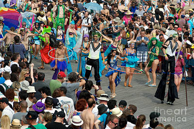 Photograph - Mermaid Parade C. 2011 by Tom Callan