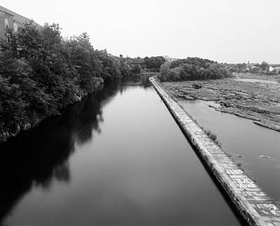 Merrimack Power Canal Original by Jan W Faul