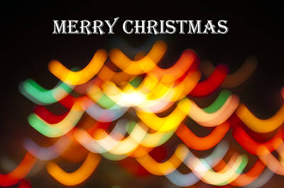 Photograph - Merry Christmas Card 2 by Glenn Gordon