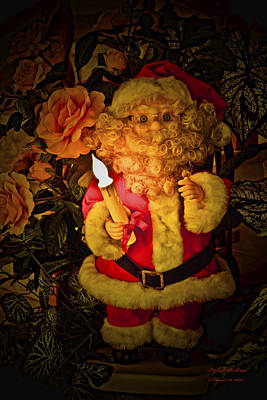 Merry Christmas To You Art Print by Itzhak Richter