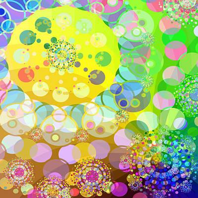 Playground Digital Art - Merry Go Round Spinning 2 by Angelina Vick