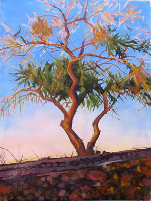 Painting - Mesquite by Sarah Gayle Carter