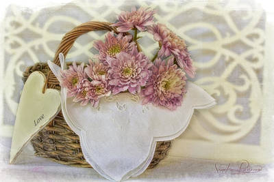Message Art Photograph - Message In A Basket by Sandra Rossouw