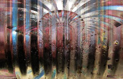 Painting - Metal Ray by Kathy Sheeran