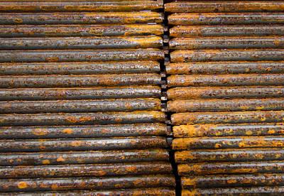 Photograph - Rusty Rebar Roundup by Jean Noren