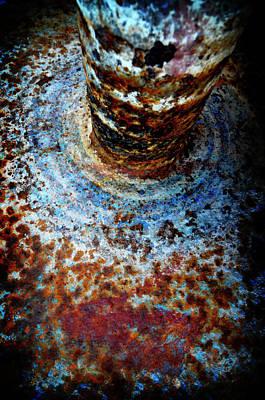 Art Print featuring the photograph Metallic Fluid by Pedro Cardona