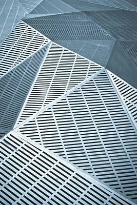 3-d Photograph - Metallic Frames by Tom Gowanlock
