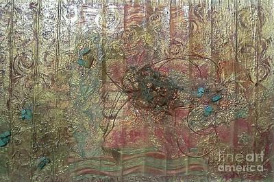 Metallic Hills 2 Original by Julie Seldes Awaken the Spirit