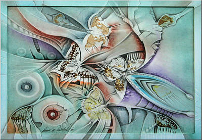 Drawing - Metamorphosis 1990 by Glenn Bautista